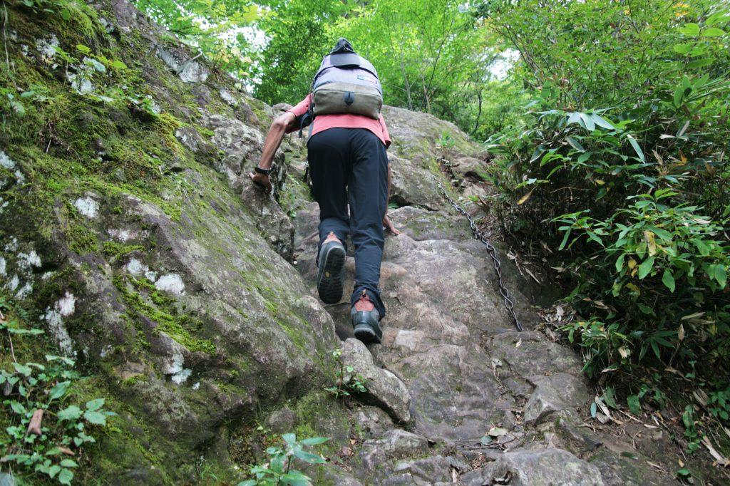 岩場トレーニング 日帰り登山