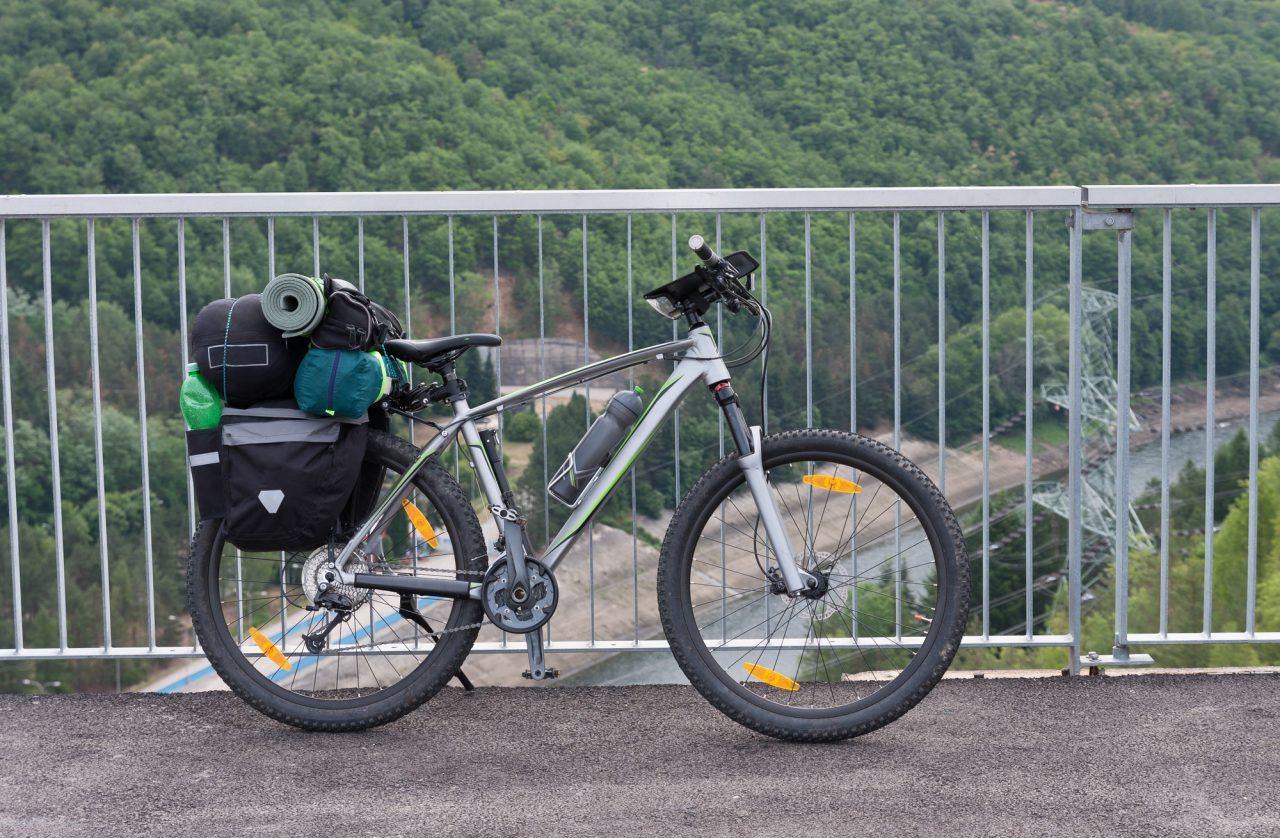 ツーリングキャンプ 自転車バッグ