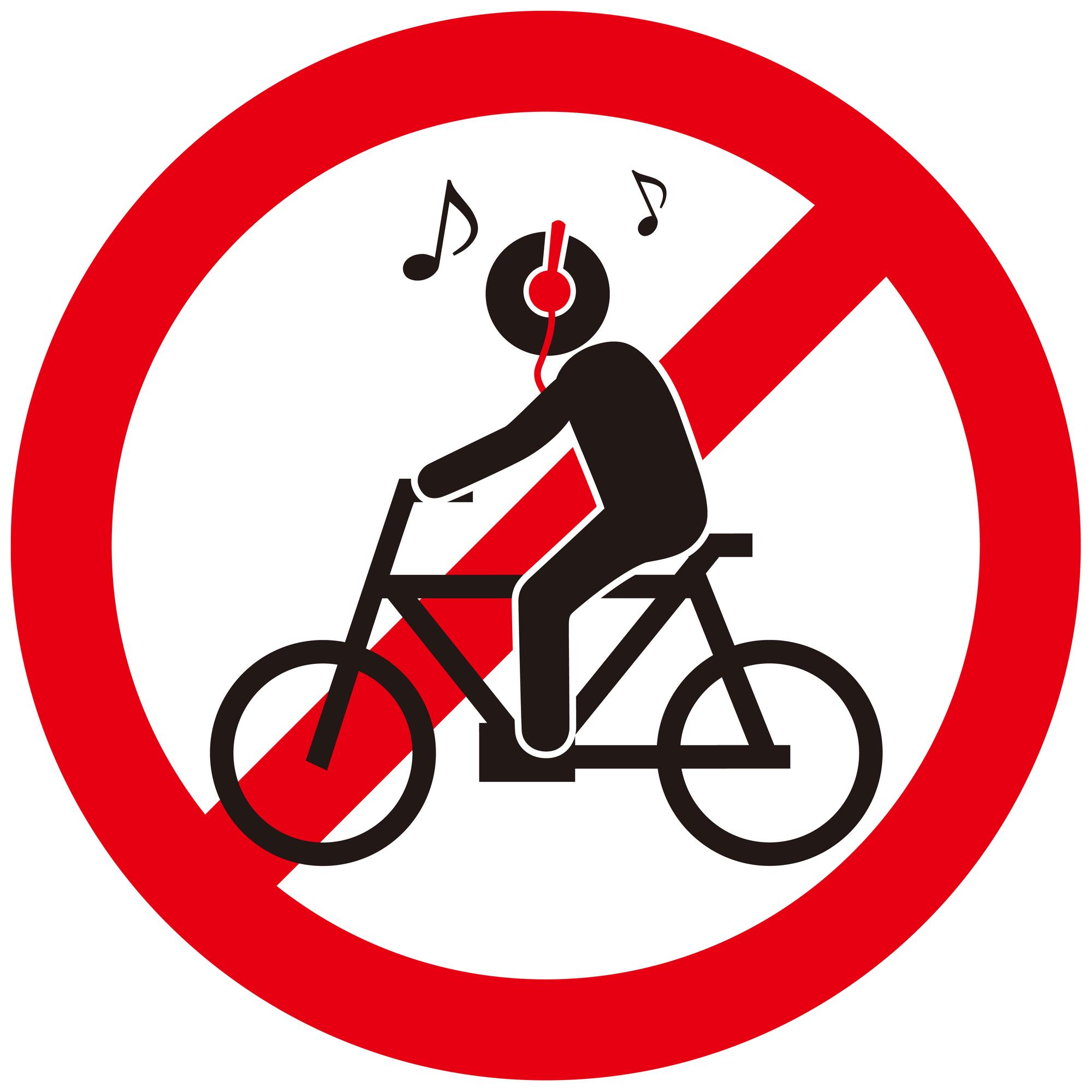 サイクリングで骨伝導イヤホン