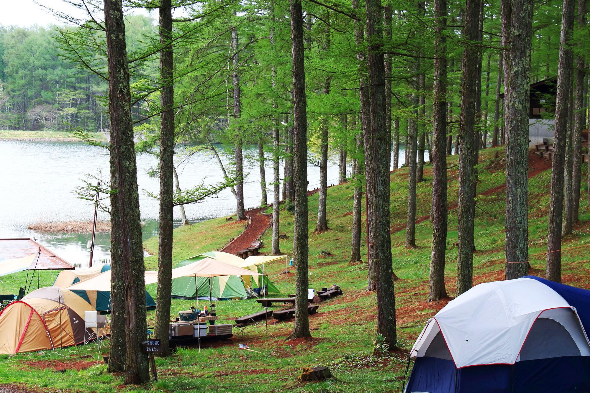 キャンプで眠れない・熟睡できない