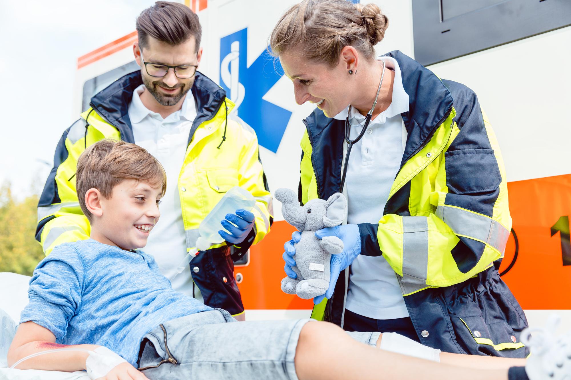 スターオブライフ(救急救命)の緊急用アイテム