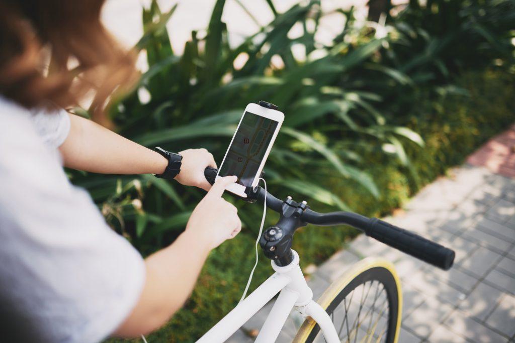サイクリングにオススメのスマホアプリ