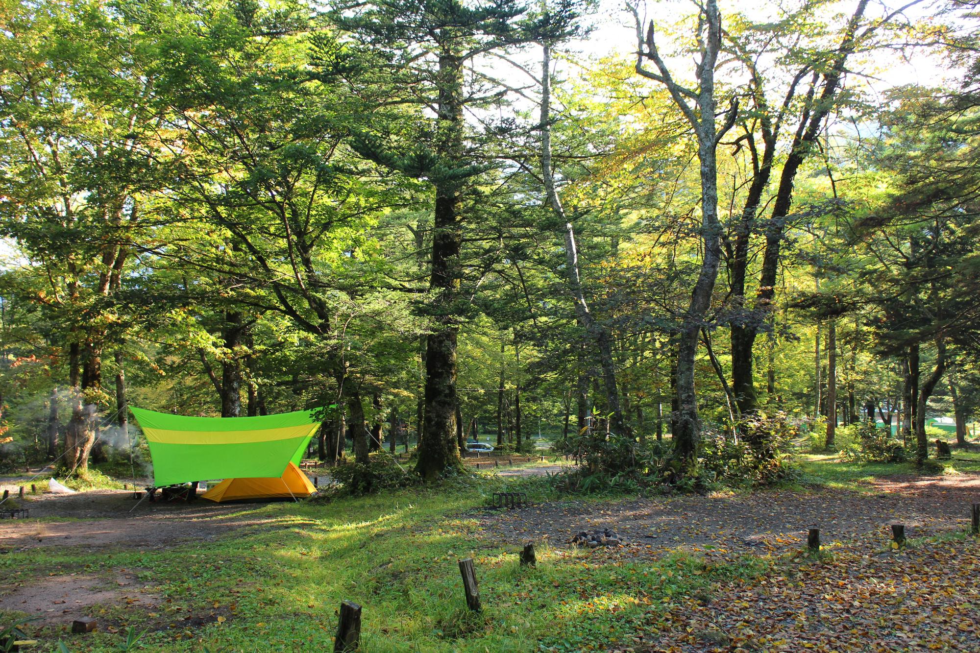キャンプでテントが濡れる夜露と結露