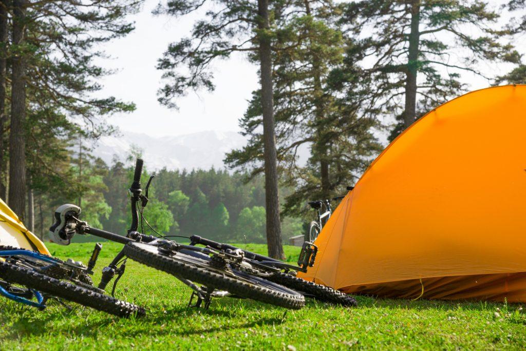 キャンプツーリングの荷物をパッキング