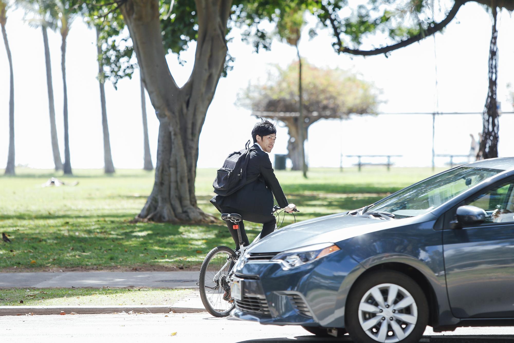 立場が変われば見え方も変わる!車からみた自転車を考える
