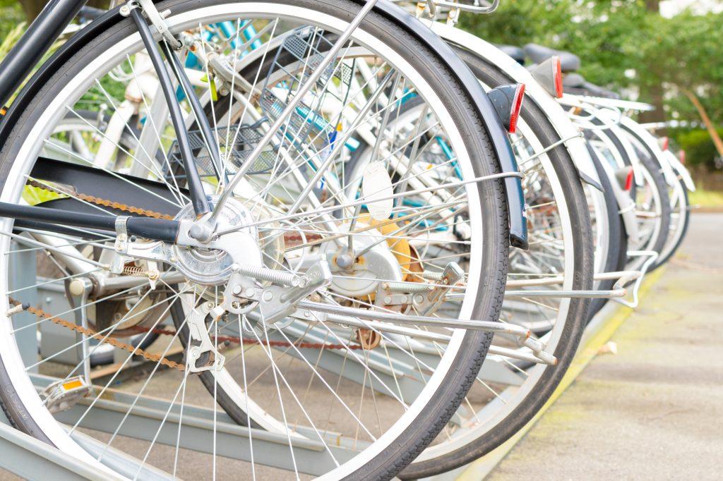 自転車の防犯対策&盗難防止のカギ