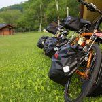 キャンプツーリングの自転車盗難防止!自転車と一緒に寝れるテントBICYCLE TOUR CAMPING TENT