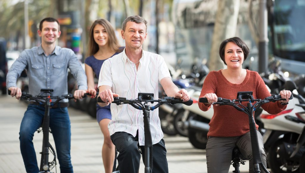 自転車の安全走行問題