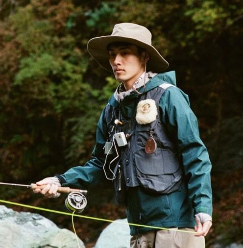 スノーピークの渓流釣りファッション