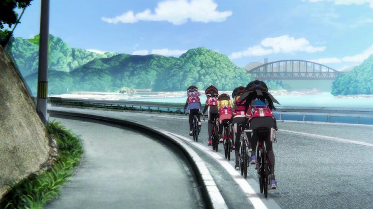 自転車アニメ「ろんぐらいだぁす!」に登場したサイクリングスポット【聖地巡礼】
