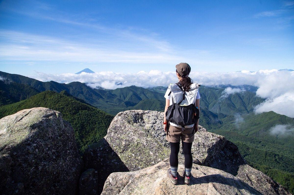 イタリアメーカー「FIZAN フィザン」のトレッキングポールを奥秩父の金峰山・瑞牆山でモニターしてきました!