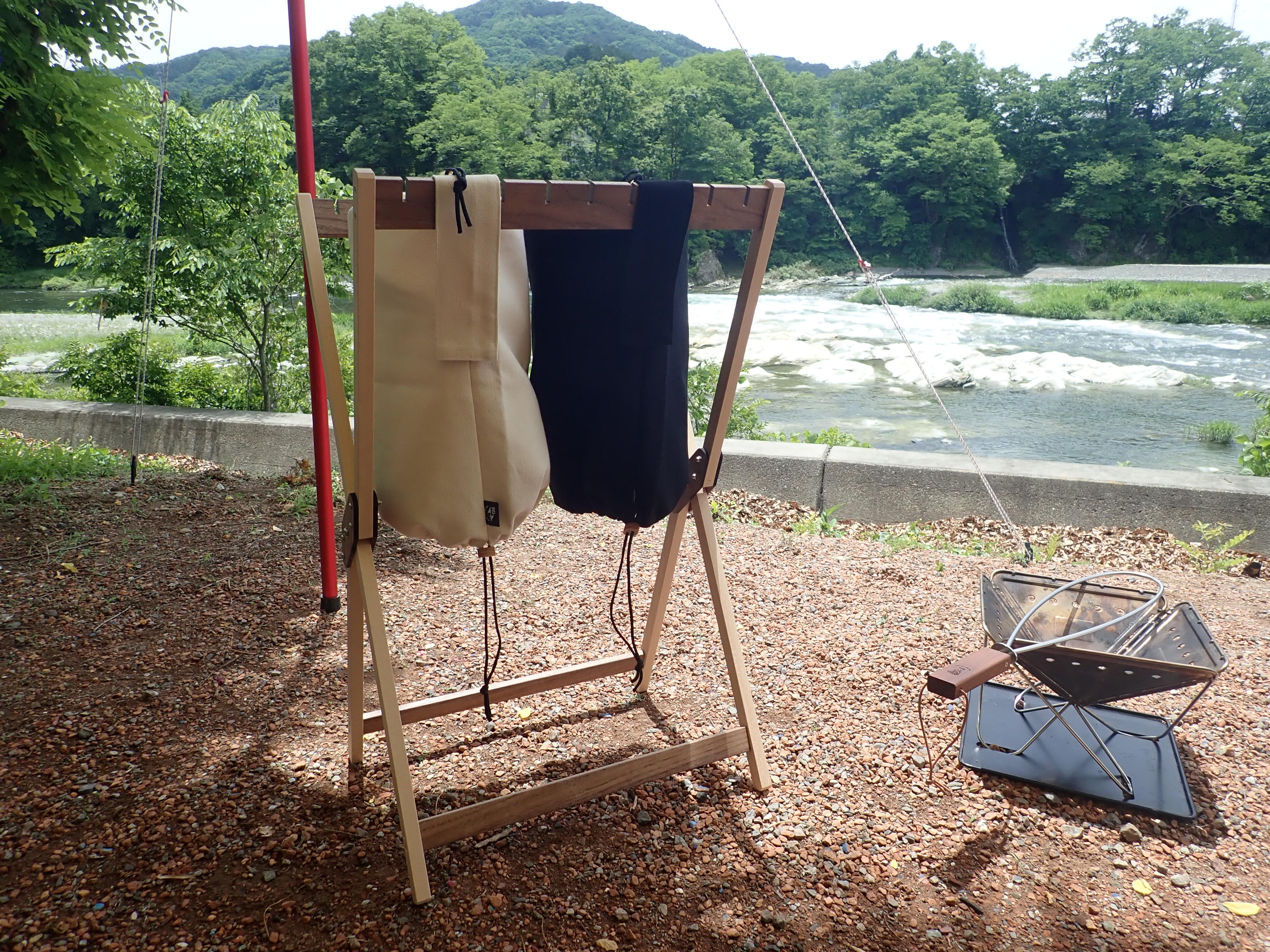キャンプサイトのゴミ袋問題はこれで解決!CHIRIBAKO【196ひのきのキャンプ用品】