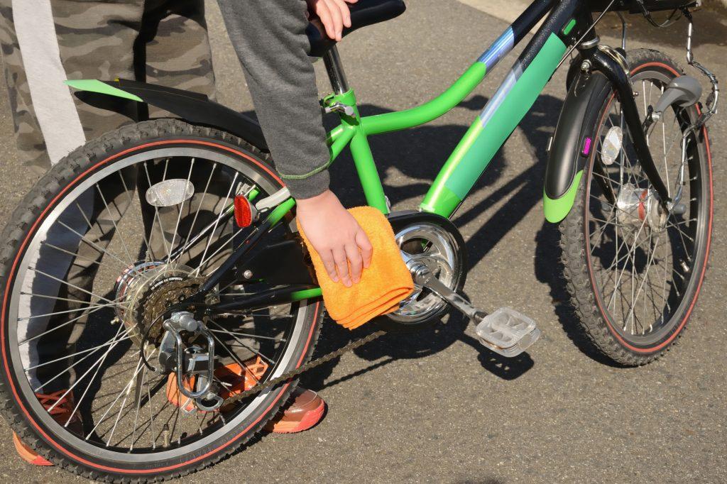 自転車の雨の後の基本メンテナンス方法
