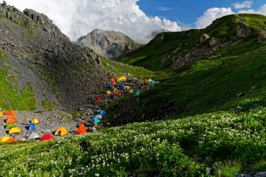 坂バカにおすすめの高地キャンプ場