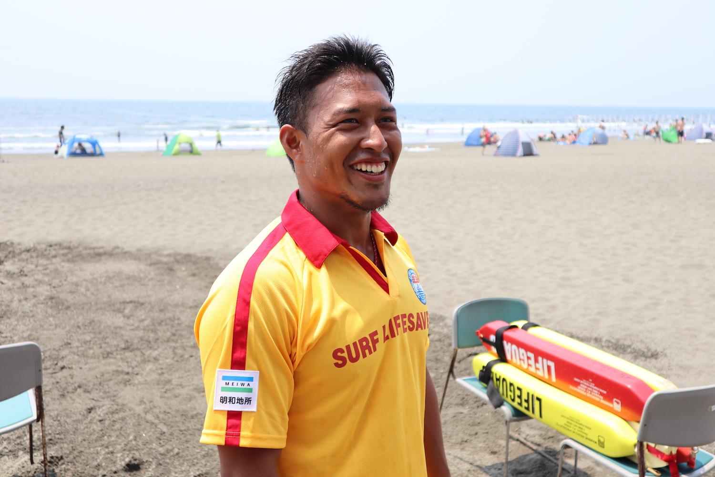 【ライフセービングスポーツとは?】日本代表選手・園田俊さんにインタビュー!