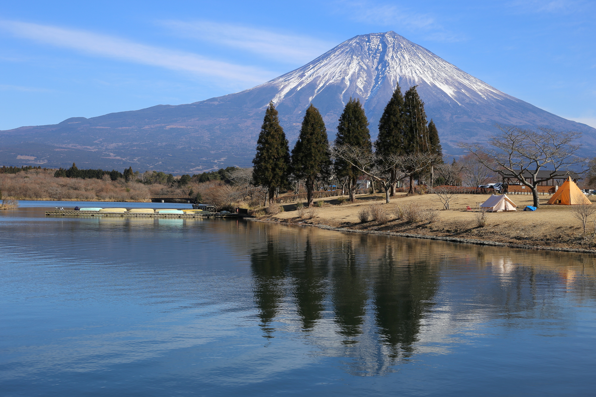 ツーリングキャンプ 富士山周辺キャンプ場