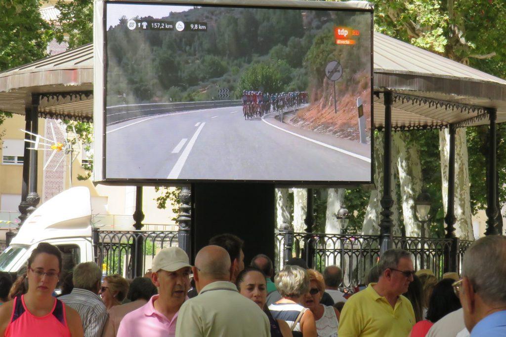 ブエルタ・エスパーニャのロードバイクレース