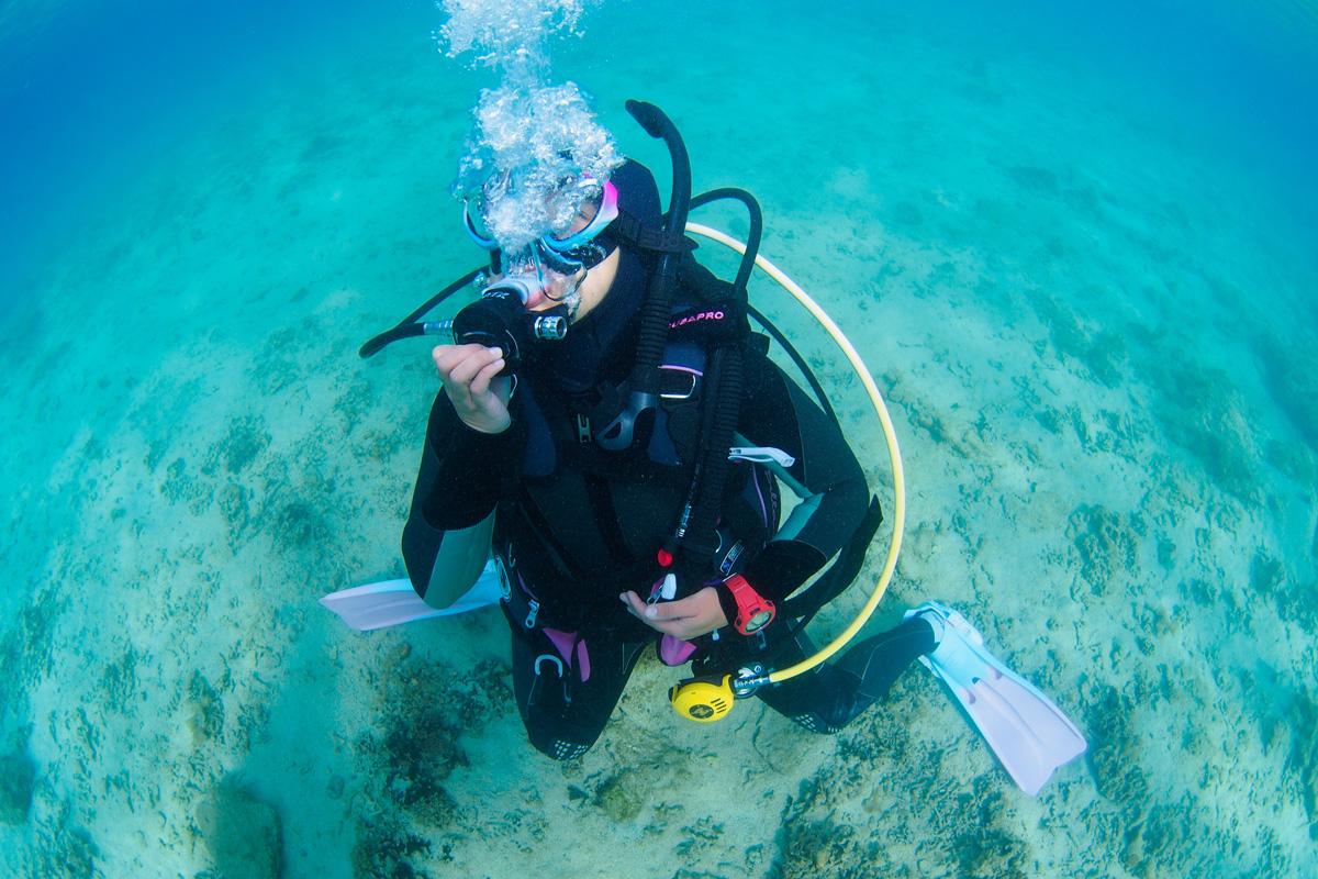 スキューバダイビングにおける安全管理