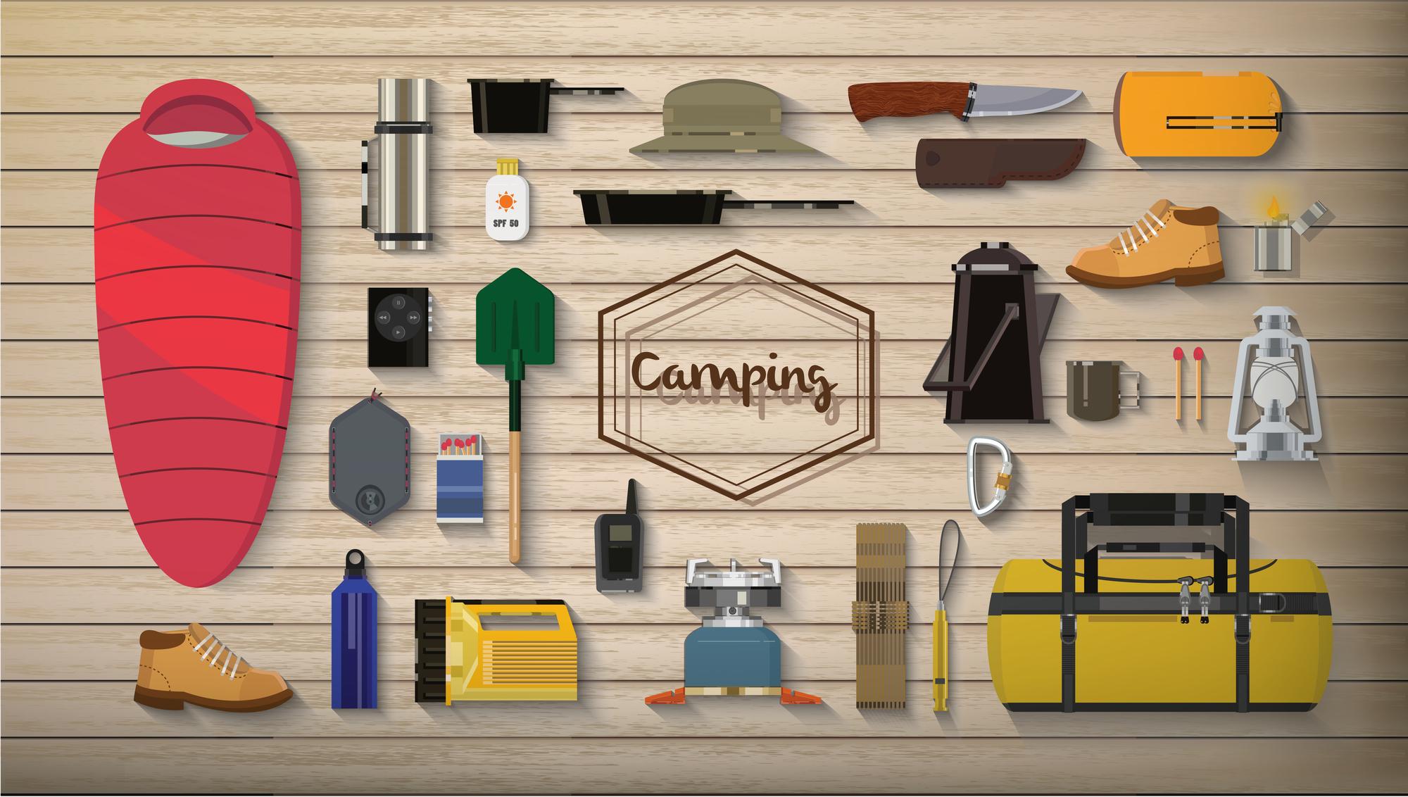 冬キャンプ用アイテム&装備