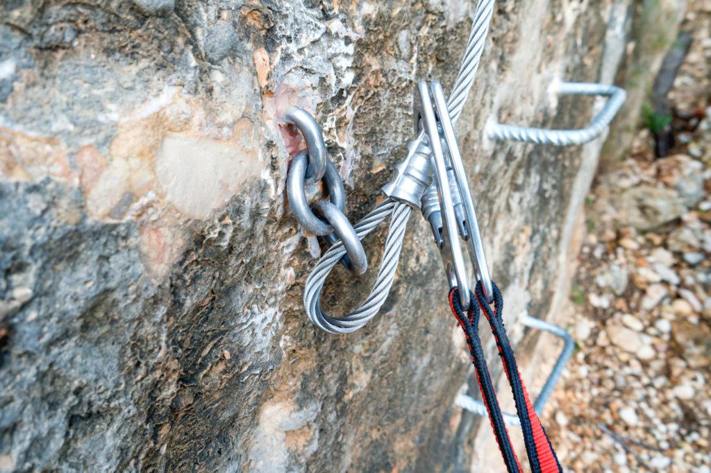 岩壁金具 安全性