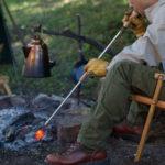 焚き火好きのマストアイテム!最強ツール「ふいご」を使って楽々着火!
