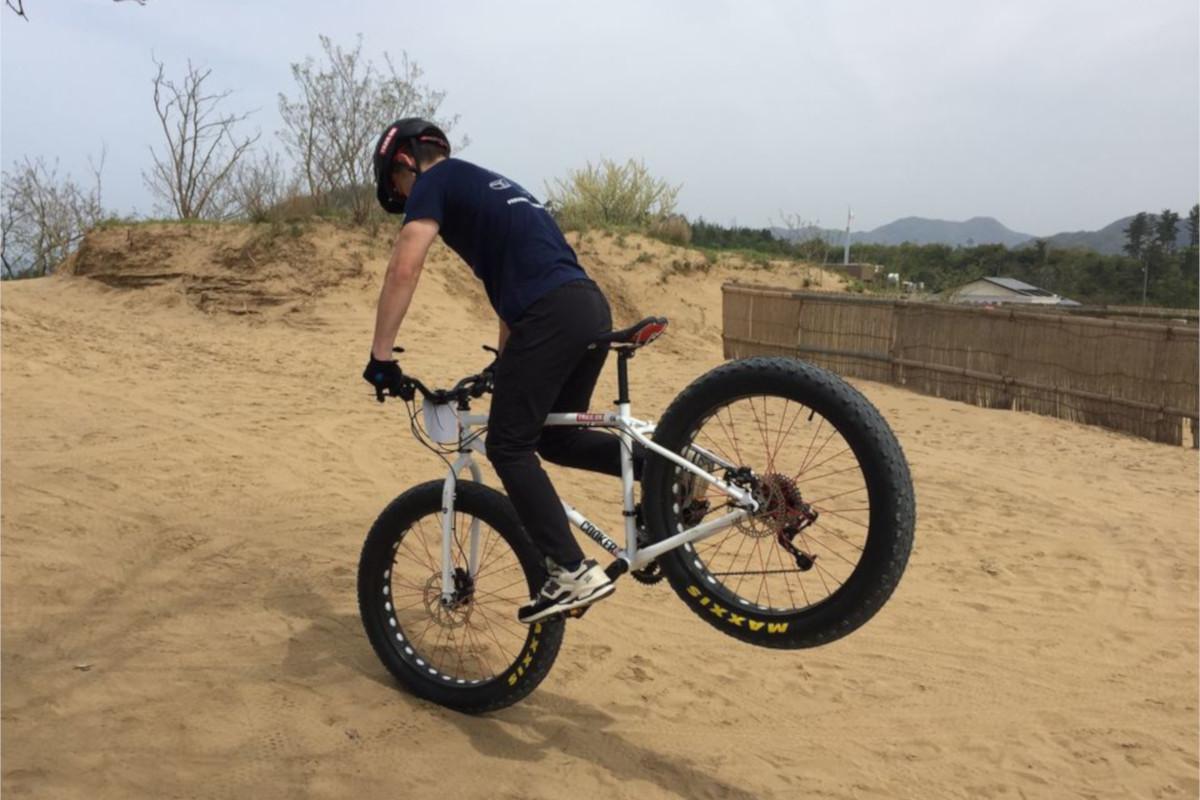 鳥取砂丘ファットバイクツアー全国のファットバイクフィールド