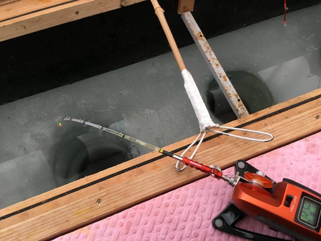 桧原湖ワカサギ釣り