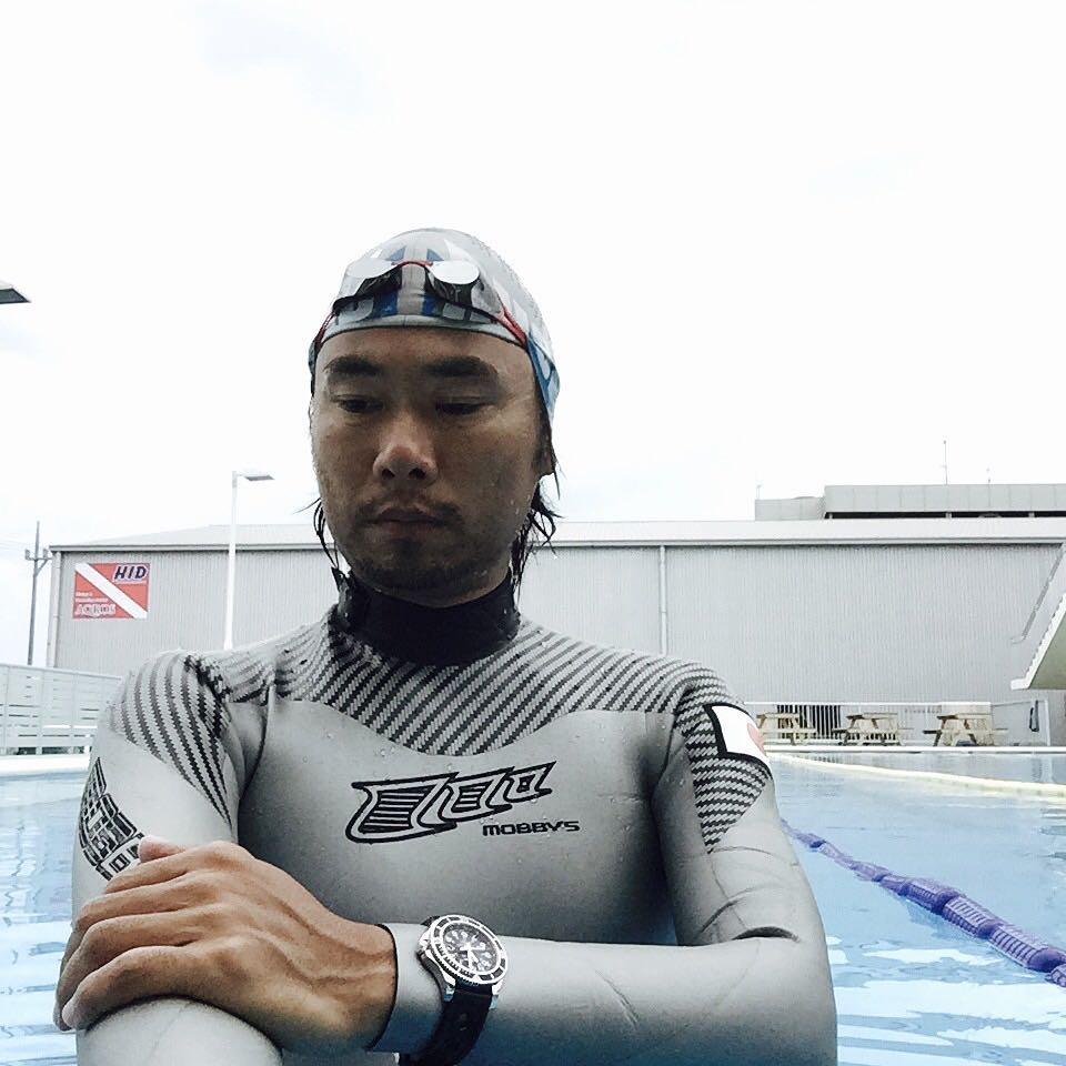 篠宮龍三選手フリーダイビング世界記録