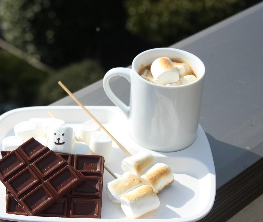 バレンタインキャンプ チョコレートレシピ
