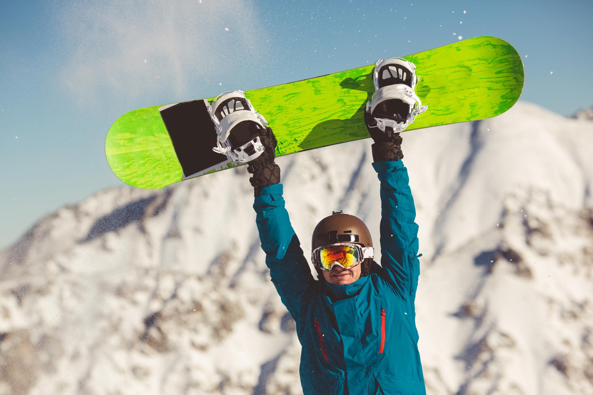 スノボスキー&スノーボードが走るワックス