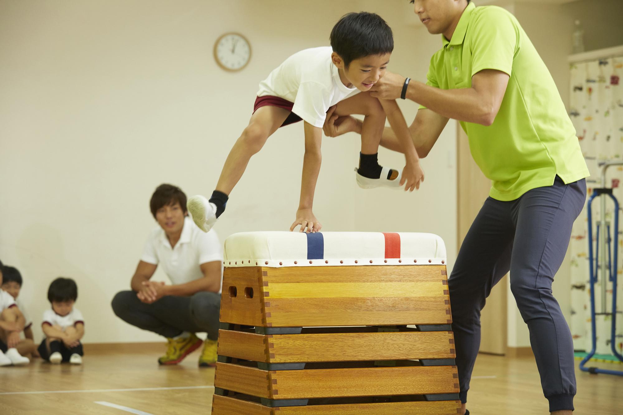 体操教室幼児に習わせたいスポーツ