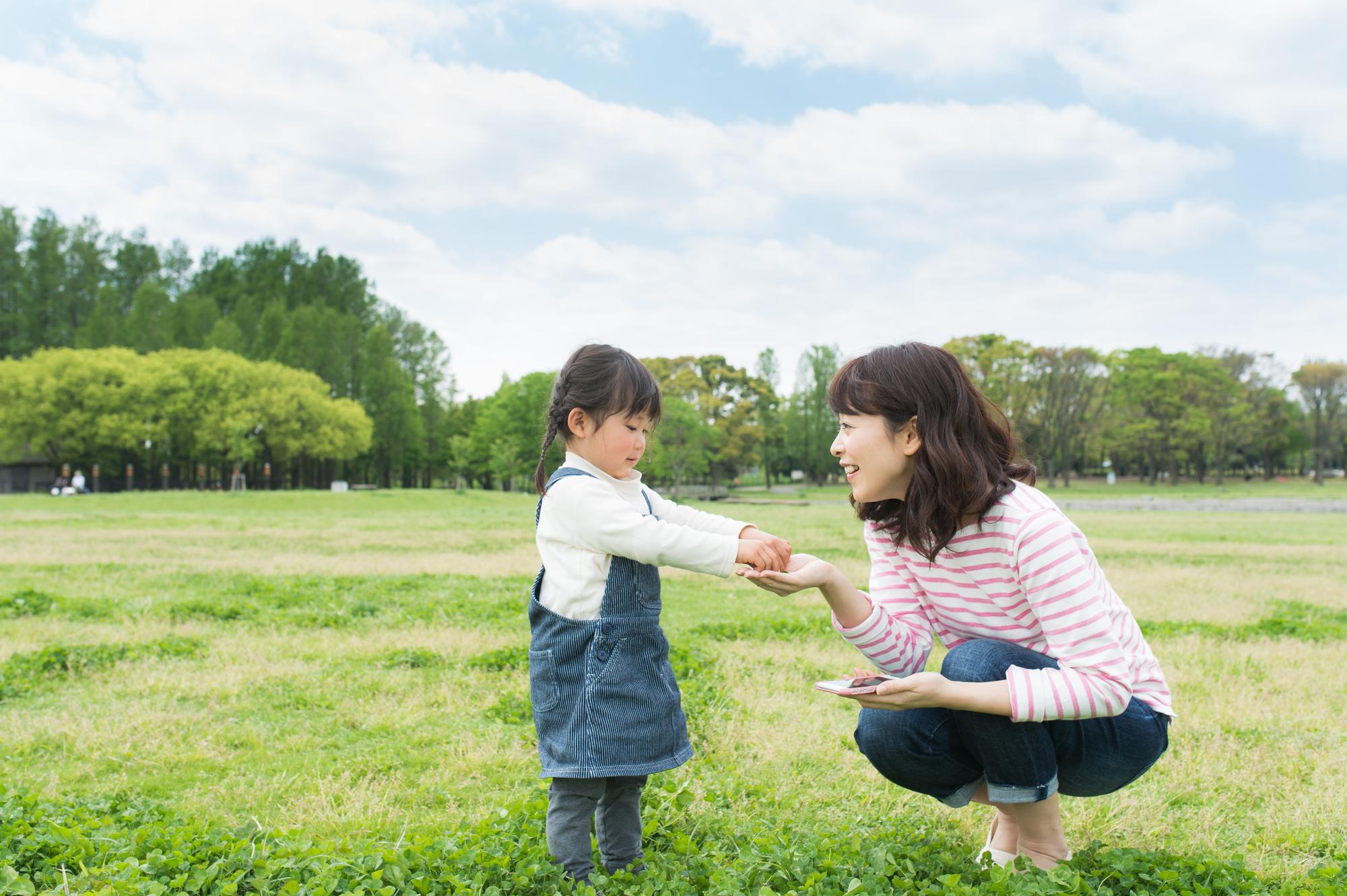 子供の言葉を育みたい!自然を活かして子供と会話を楽しもう!