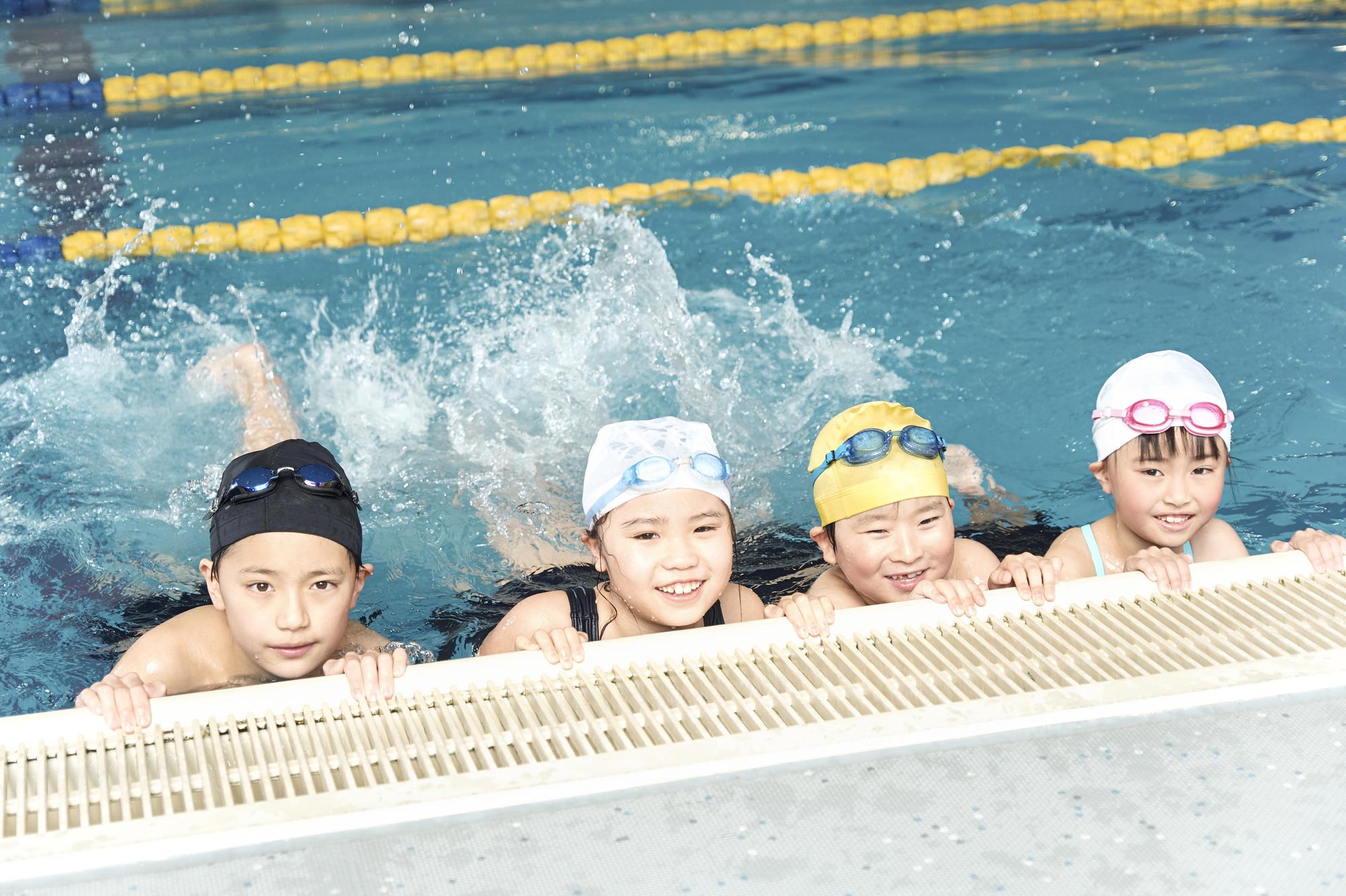 幼児に習わせたいスポーツスイミングスクール