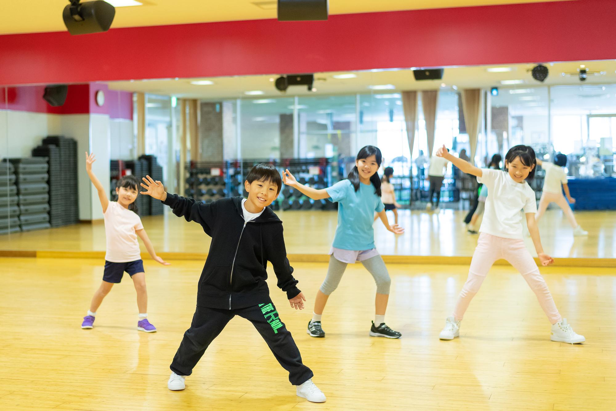 ダンススクール幼児に習わせたいスポーツ