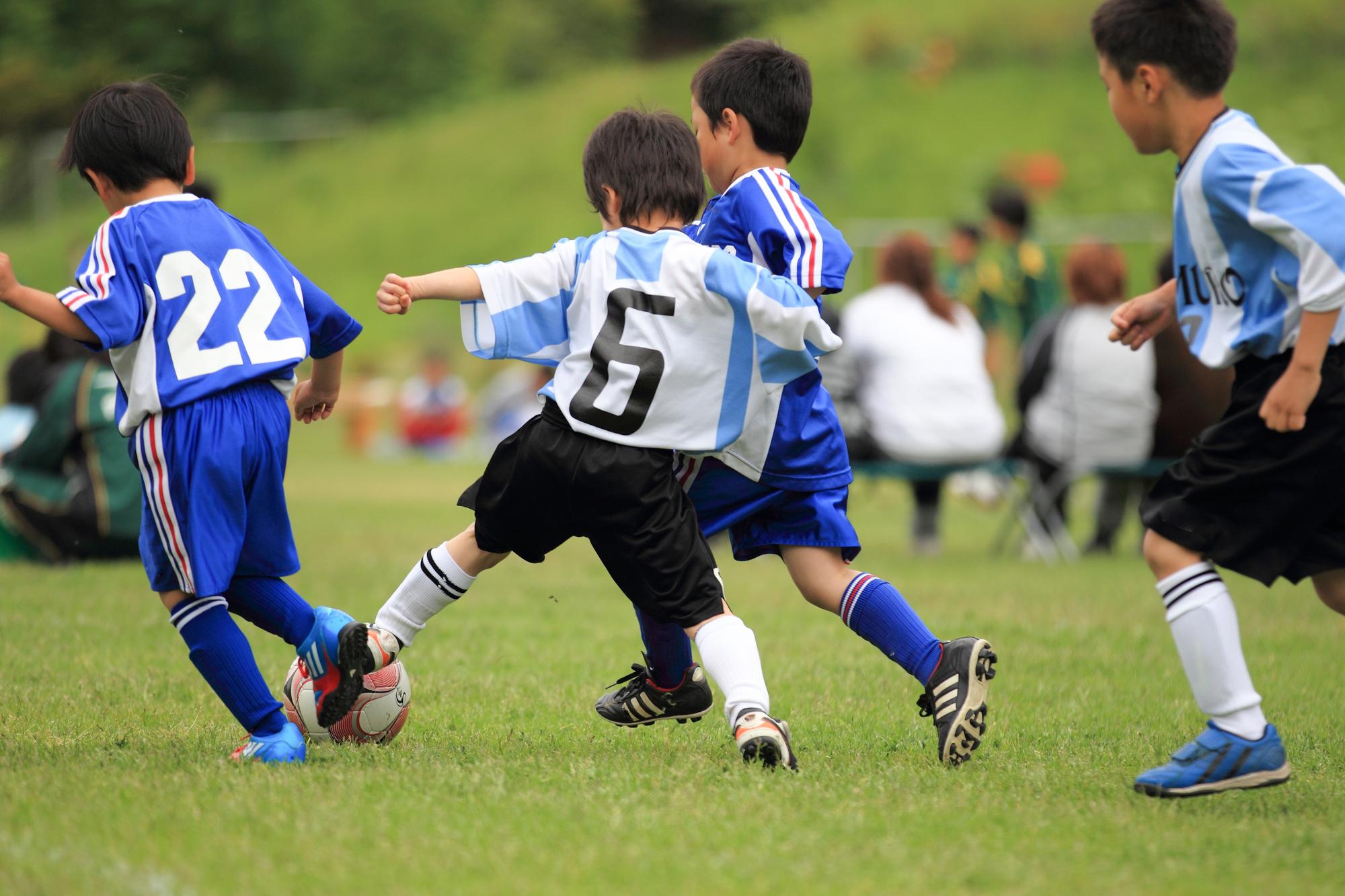 サッカースクール幼児に習わせたいスポーツ