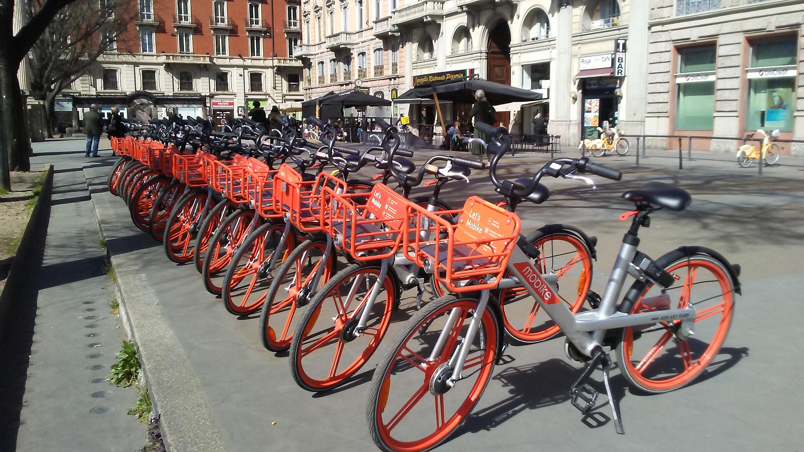 イタリアで大人気のシェアサイクル!その愛される理由とは?