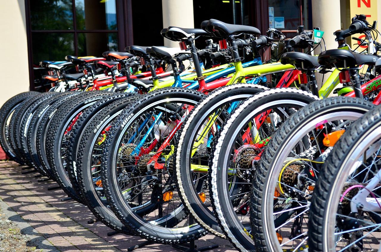 MTB自転車置き場