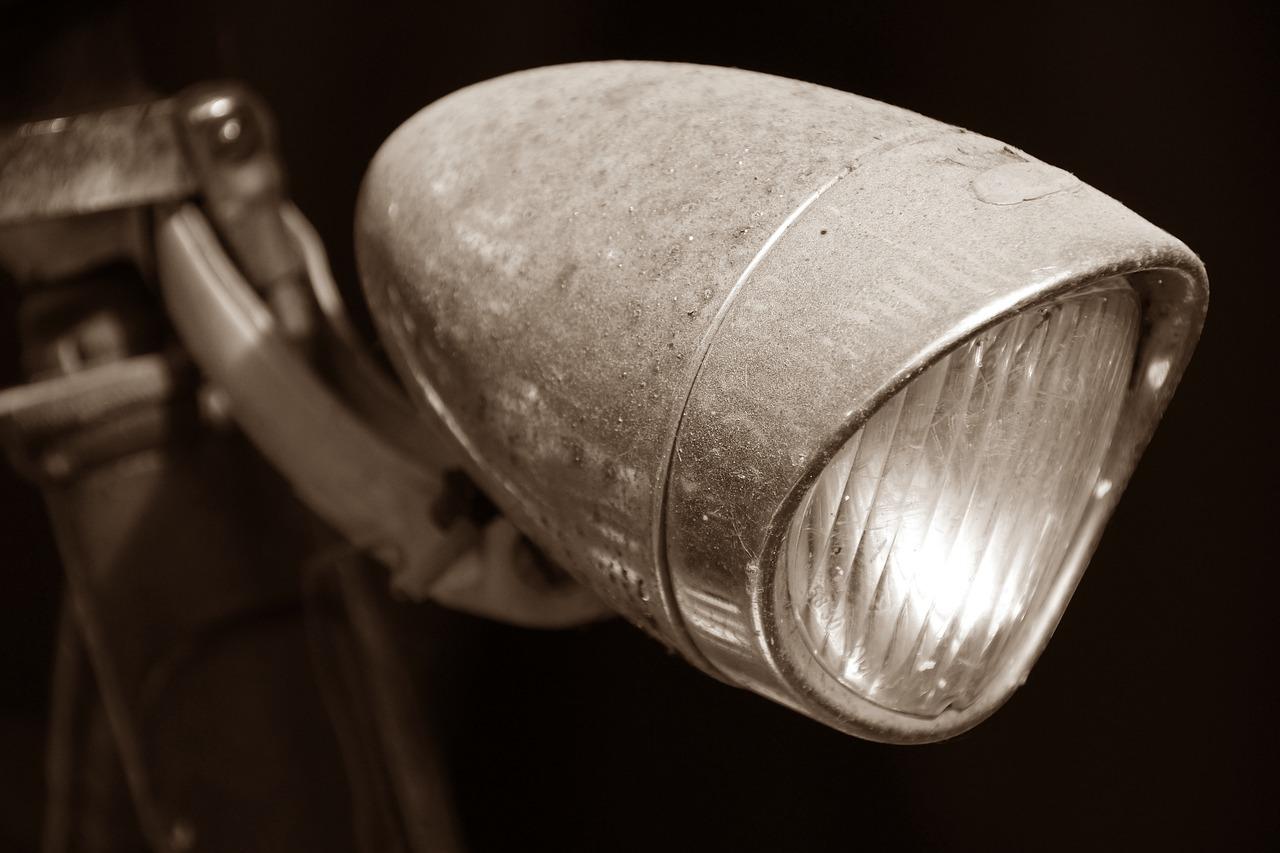 自転車ライト前照灯ロードバイクのライト