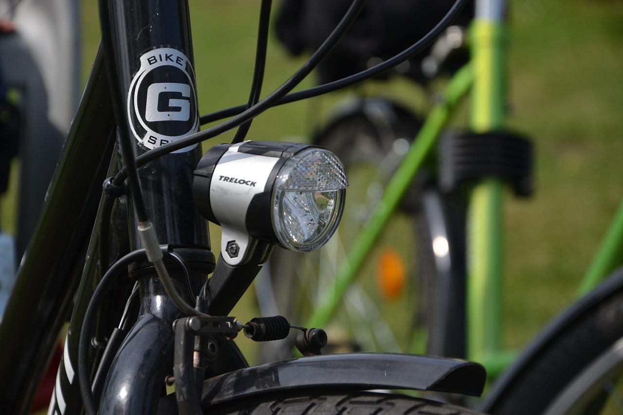 自転車ライトクロスバイクロードバイクのライト