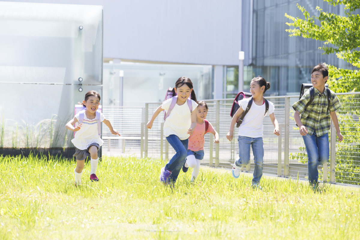 アウトドアで子供の空間認識能力を養う