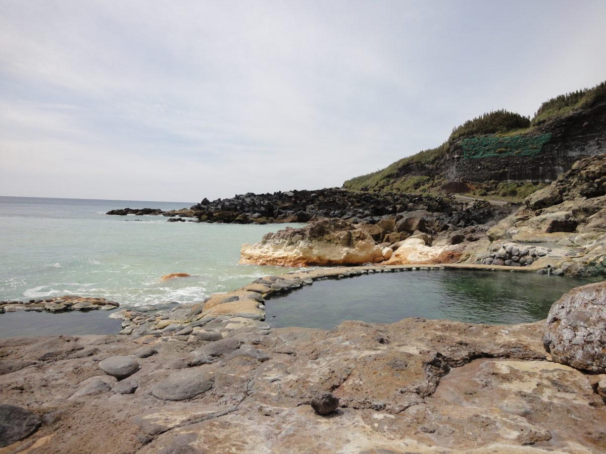 硫黄島 温泉