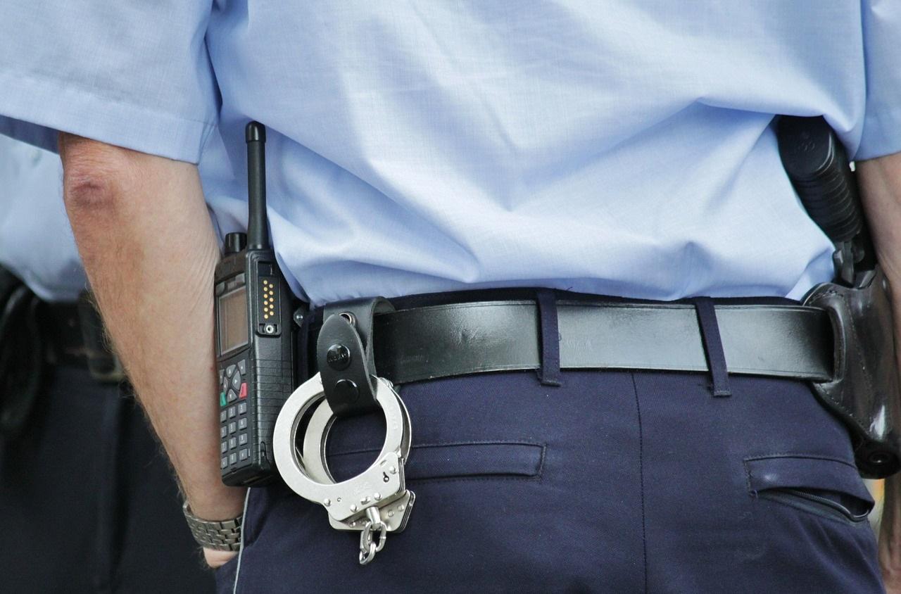 警察官自転車の盗難
