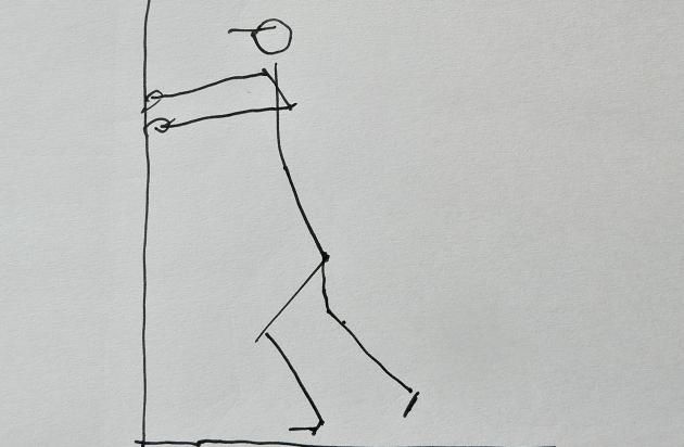 壁を押す意識で前に足を踏み出そう ランニングフォーム