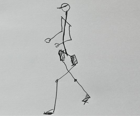 骨盤を前傾姿勢にしよう ランニングフォーム