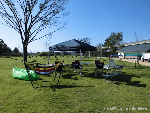 舎人公園 バーベキュー(BBQ)