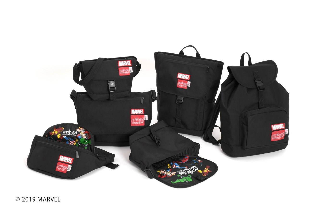 Manhattan PortageからMARVEL「アベンジャーズ」のアイアンマンたちを描いたバッグが展開