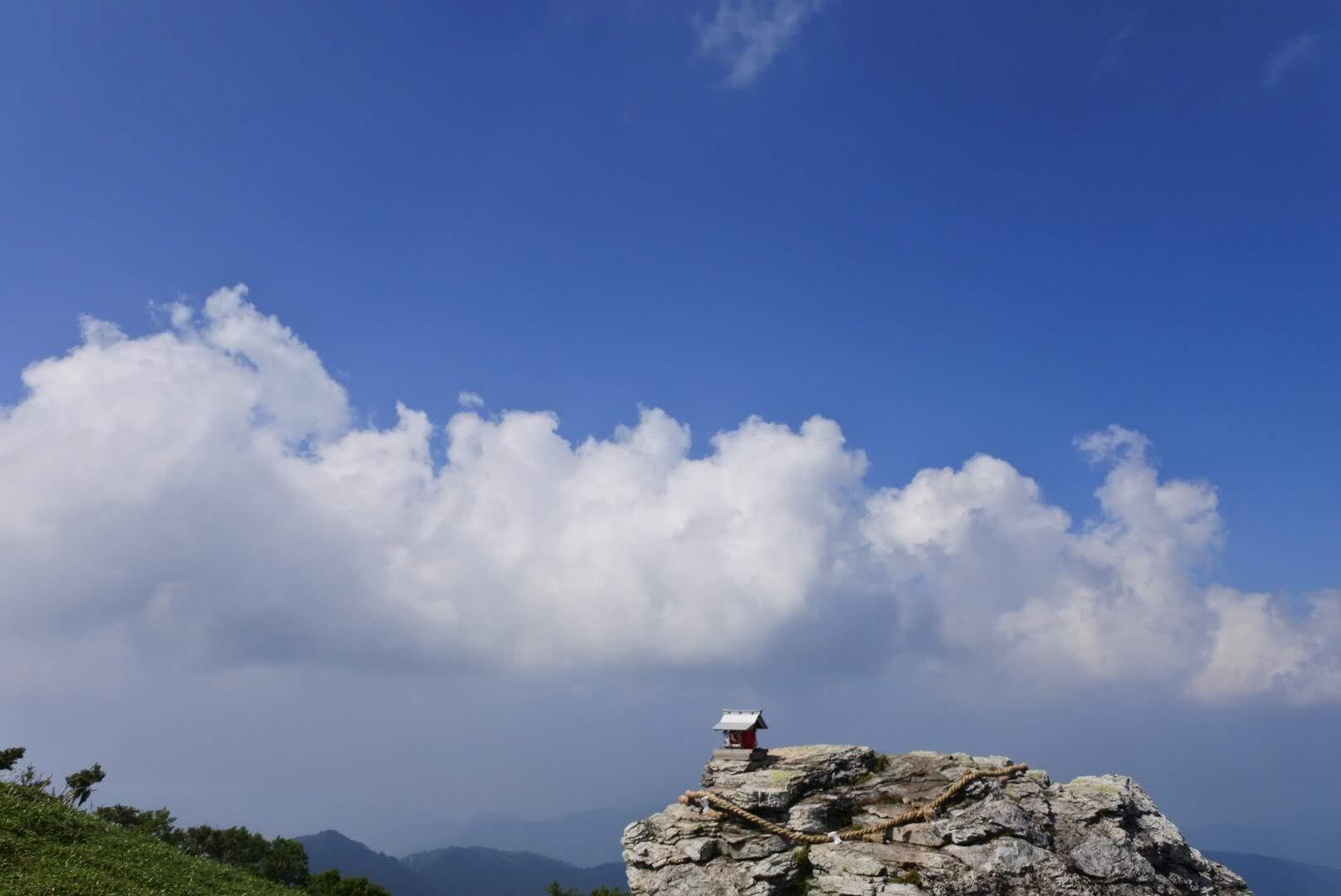 剣山の登山 初心者