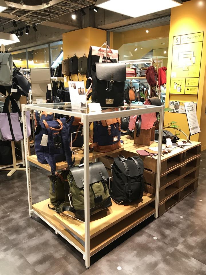 スウェーデン発のバックパックブランド「ガストンルーガ(Gaston Luga)」が渋谷ロフトでポップアップストアを開催