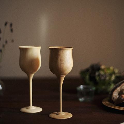 天然竹から作られた 美しいテーブルウエア RIVERETシリーズ