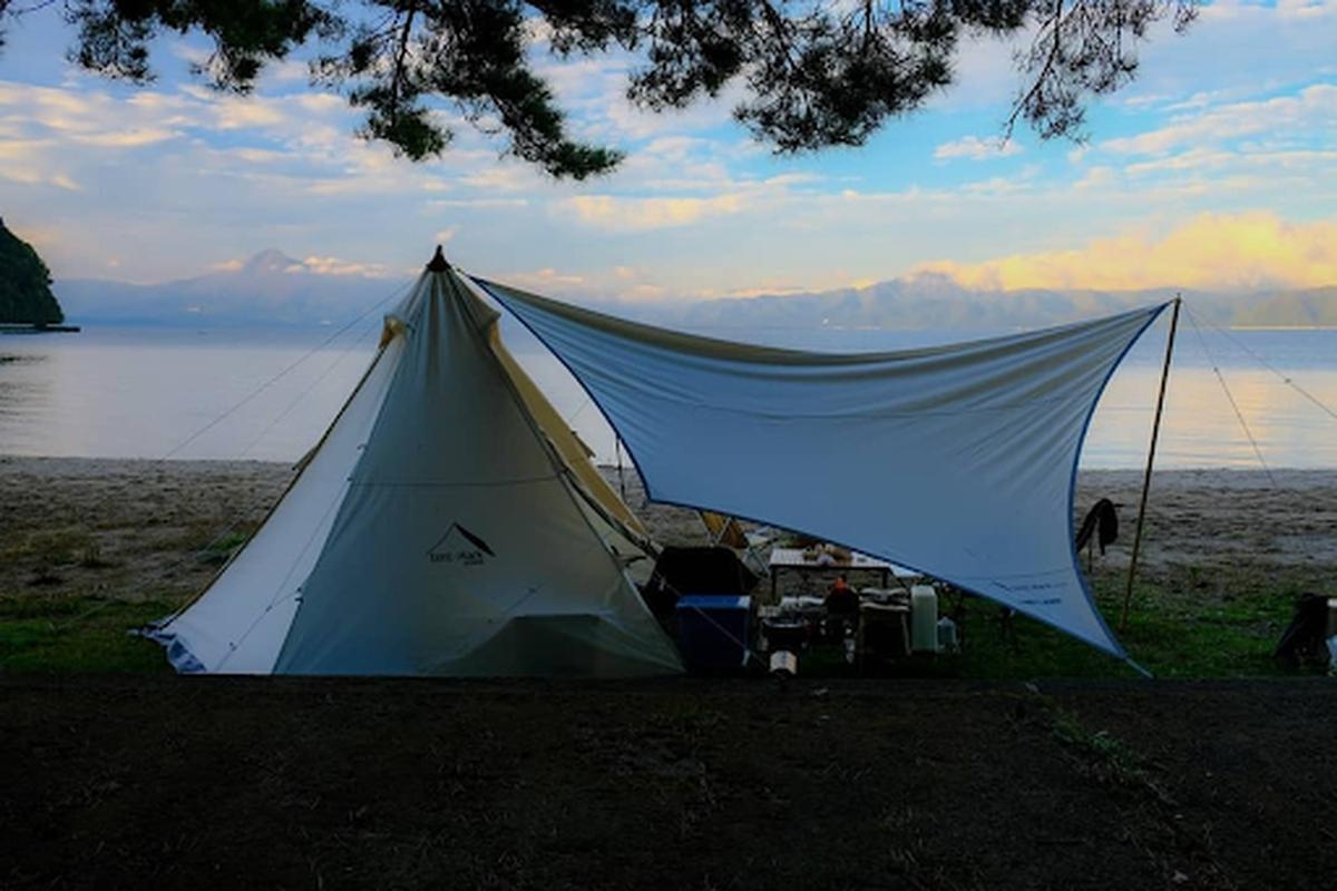秋山浜キャンプ場 福島県 キャンプ場